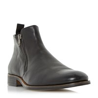 Dune Maccabees Double Side Zip Boots Black