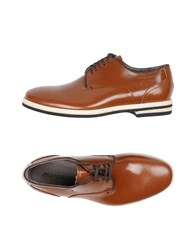 Armando Cabral Lace Up Shoes Tan