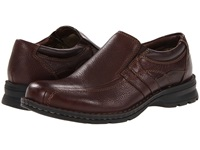 Dockers Caper Bark Oiled Leather Men's Slip On Shoes Brown