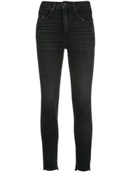Nili Lotan Slim Fit Denim Jeans Black