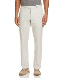 Bloomingdale's The Men's Store At Cotton Regular Fit Pants 100 Exclusive Bone