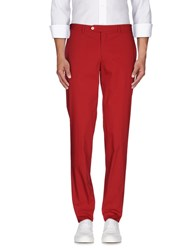 Brian Dales Trousers Casual Trousers Men Brick Red