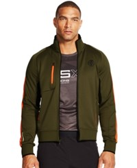 Polo Ralph Lauren Paneled Track Jacket Green