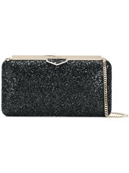 Jimmy Choo Ellipse Clutch Black