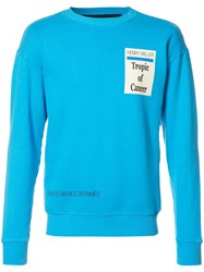 Enfants Riches Deprimes Tropic Of Cancer Sweatshirt Blue