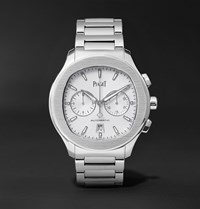 Piaget Polo S Chronograph 42Mm Stainless Steel Watch Ref. No. G0a42005 Silver
