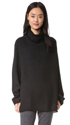 6397 Chunky Turtleneck Black