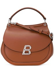 Ballyum Shoulder Bag Women Leather One Size Brown