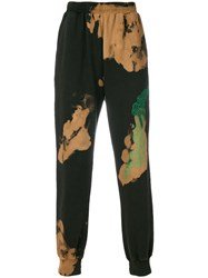 Damir Doma Tie Dye Track Pants Brown