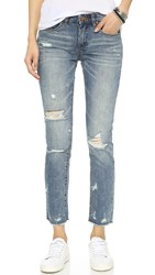 Blank Distressed Skinny Jeans Low Key