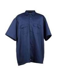 Dickies Shirts Slate Blue