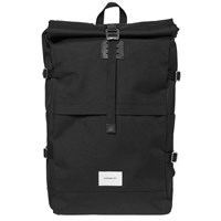 Sandqvist Bernt Cordura Roll Top Backpack Black