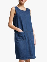 Seasalt Book Seller Pinafore Dress Indigo