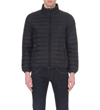 Armani Jeans Quilted Shell Jacket Black