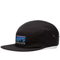 Patagonia Fitz Roy 5 Panel Cap Black