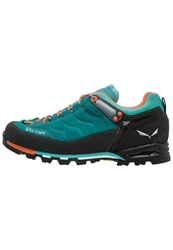 Salewa Mtn Trainer Gtx Walking Shoes Turquoise Tigerlilly