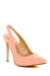 Penny Loves Kenny Obvious Slingback Pump Orange