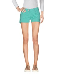 Up Jeans Denim Denim Shorts Light Green