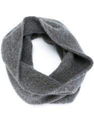 Roberto Collina Marled Snood Grey