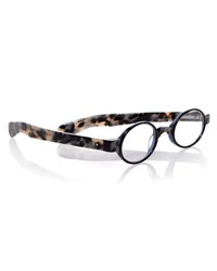 Eyebobs Bello Round Readers Black White Navy Black White Navy