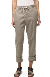 James Perse Women's Cuffed Crop Pants