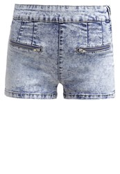 Evenandodd Denim Shorts Moon Washed