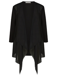 Windsmoor Chiffon Jersey Jacket Black