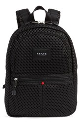 State Bags Lacrosse Mini Lorimer Mesh Backpack Black