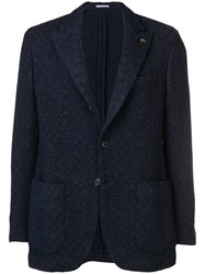 Gabriele Pasini Classic Tailored Blazer Blue