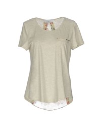 Axara Paris T Shirts Light Grey