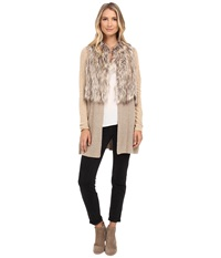 Nic Zoe Festive Faux Fur Jacket Multi Women's Coat