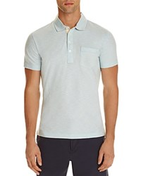 Billy Reid Pensacola Regular Fit Polo Ice Blue