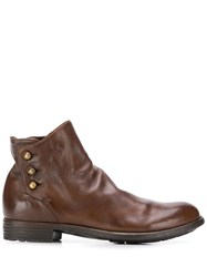 Officine Creative Mars Boots Brown