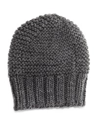 Hat Attack Slouchy Knit Beanie Grey