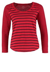 Gap Long Sleeved Top Pure Red