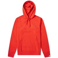 A Bathing Ape One Point Hoody Red