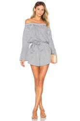 Faithfull The Brand Bisque Playsuit Gray