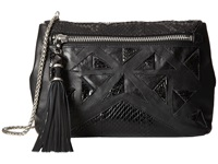 Rafe New York Eva Clutch Crossbody Black Cross Body Handbags