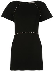 Rachel Zoe Fitted Cut Out Dress Black