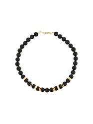 Isabel Marant Stone Beaded Choker Black
