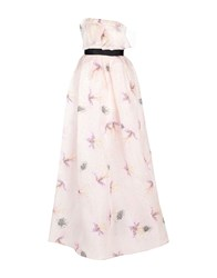 Daniele Carlotta Long Dresses Light Pink