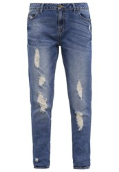 Evenandodd Relaxed Fit Jeans Blue Stone Blue