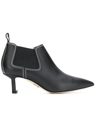 Paul Andrew Ana Ankle Boots Black
