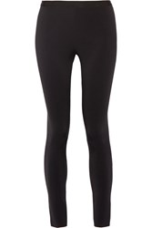 Helmut Lang Stretch Scuba Leggings Black
