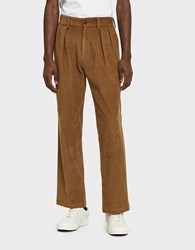 Paa Double Pleat Pant In Caramel