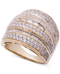 Wrapped In Love Diamond Dome Statement Ring 2 Ct. T.W. 14K Gold Yellow Gold