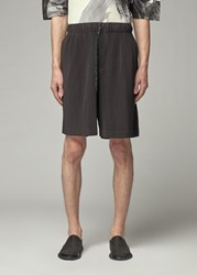 Homme Plisse Issey Miyake 'S Colorful Pleats Pant Short In Corks Grey Size 2 100 Polyester