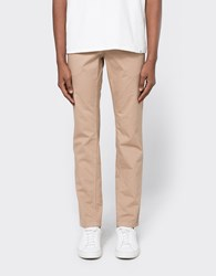 Norse Projects Aros Slim Light Twill In Khaki