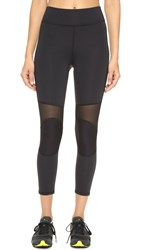 Michi Ballistic Crop Leggings Black