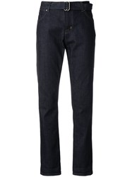 Tom Ford Belted Waist Jeans Blue